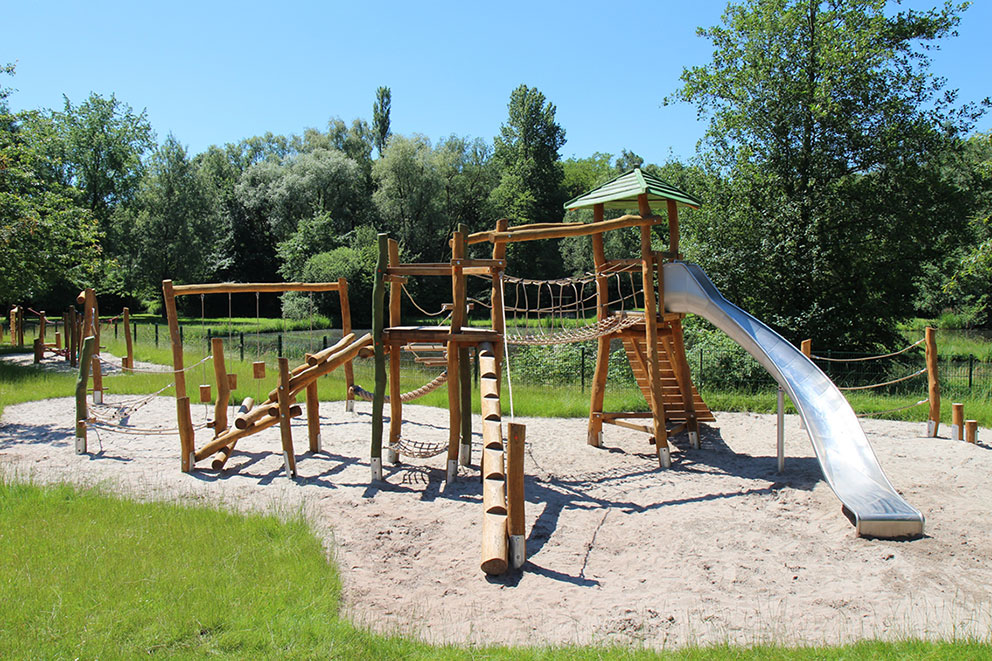 outdoor timber play equipment