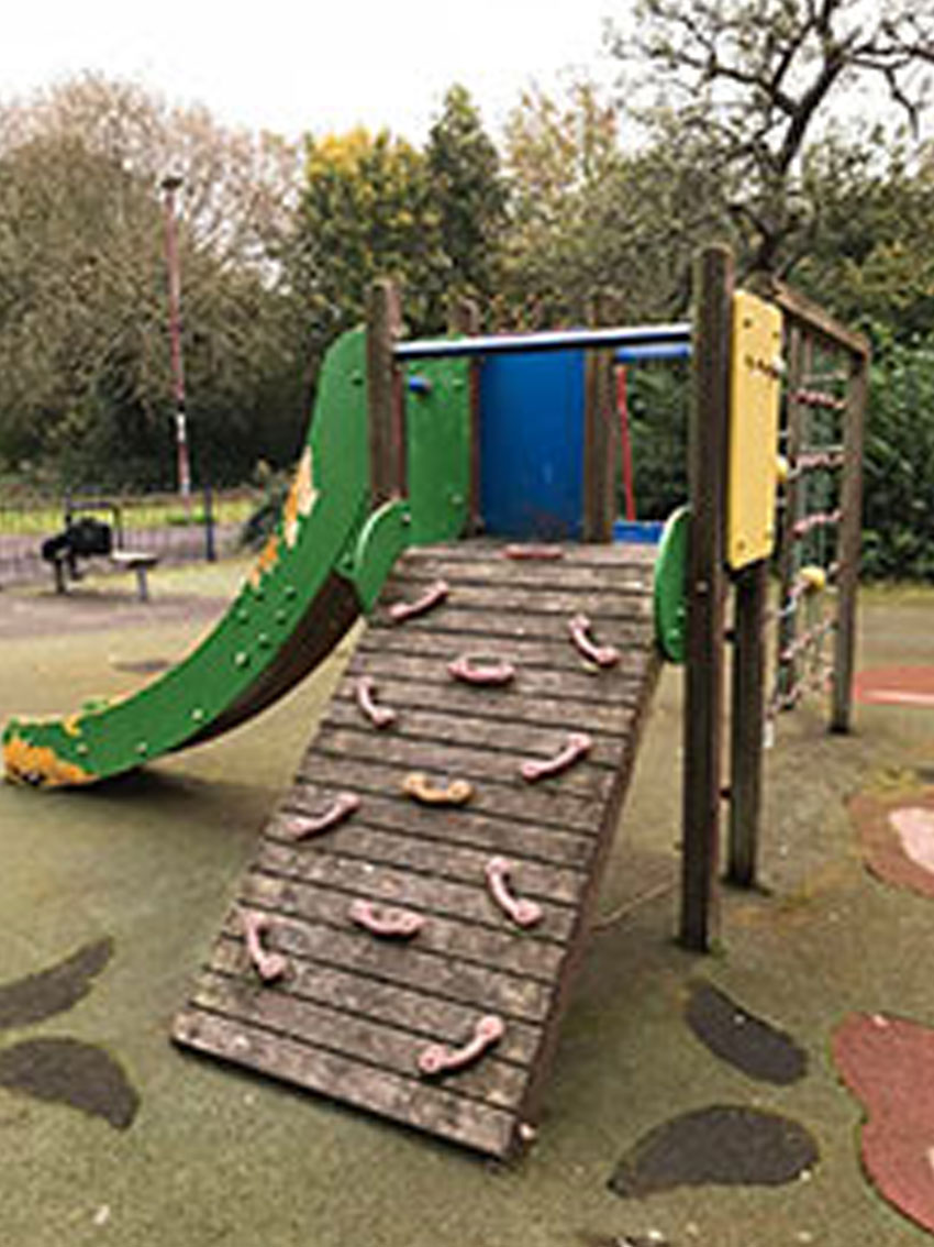 used play equipment
