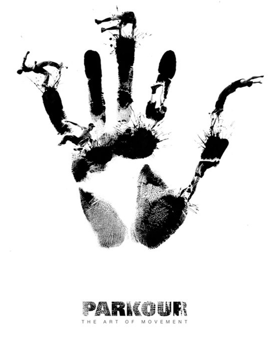 Parkour the art of movement poster