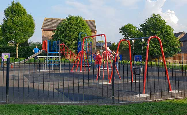Finished Kingsmead Park Playground