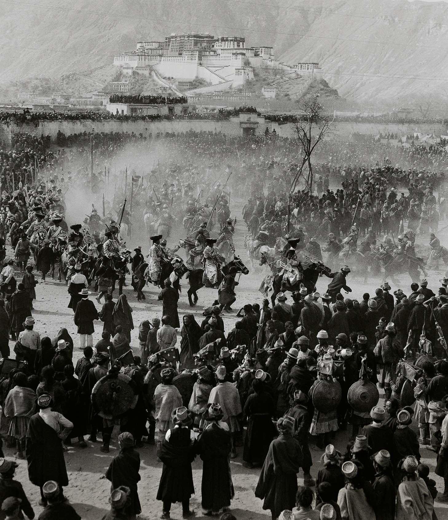 Lan Zhigui, Merry Festivals in Lhasa