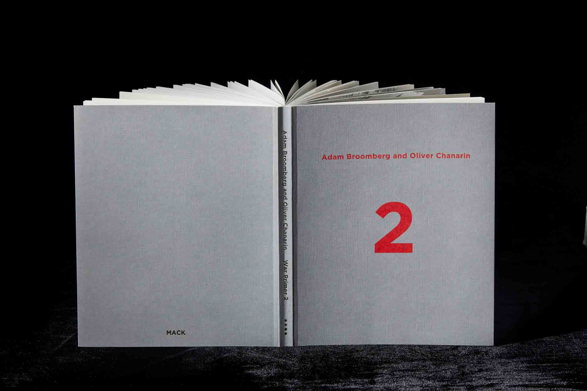 WINNER of the PHOTO-TEXT BOOK AWARD   Adam BROOMBERG & Oliver CHANARIN,  War Primer 2,  MACK, London (England)