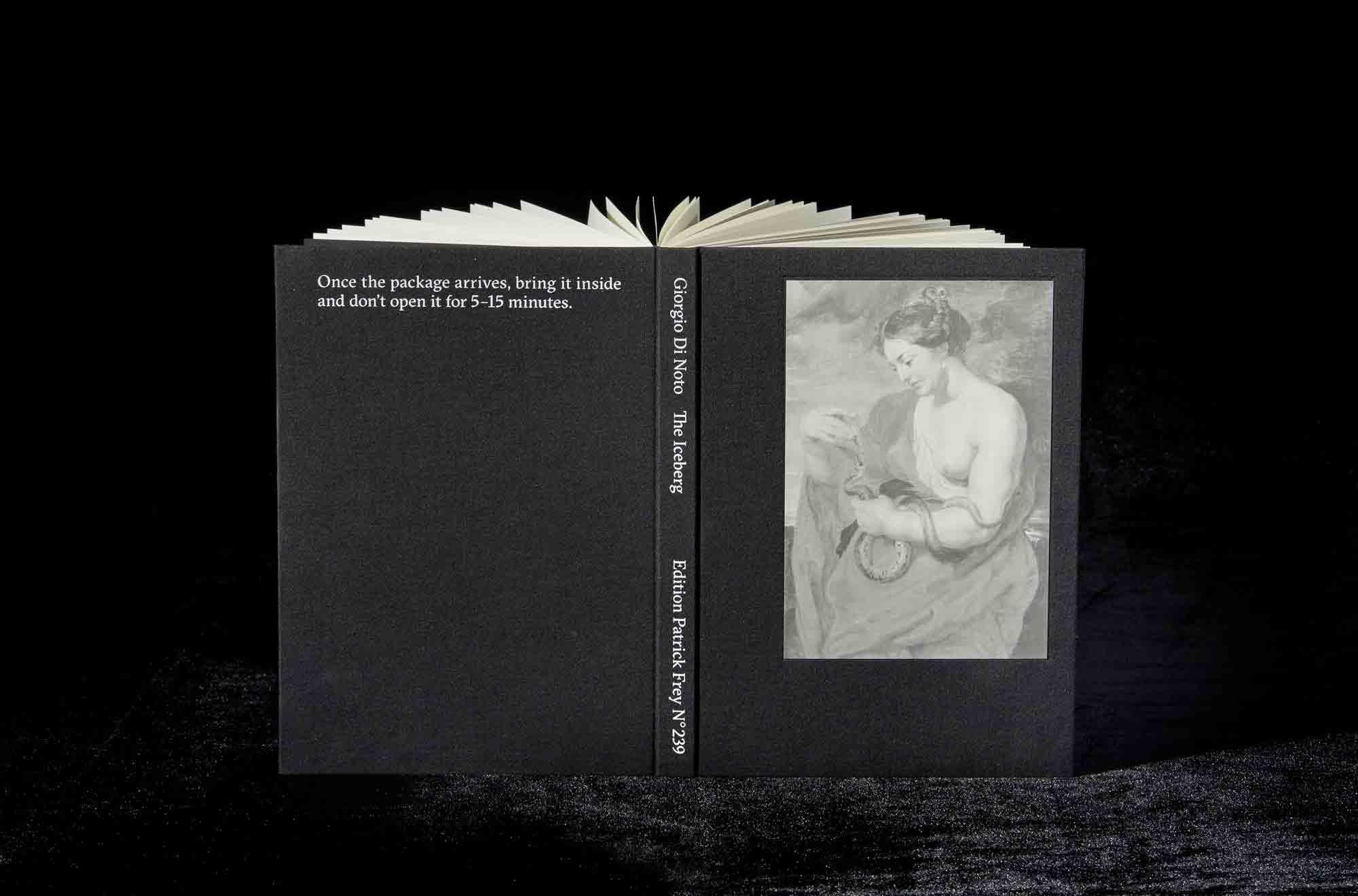 SPECIAL MENTION AUTHOR BOOK AWARD   Giorgio DI NOTO,  The Iceberg , ÉDITION PATRICK FREY, Zürich (Switzerland)