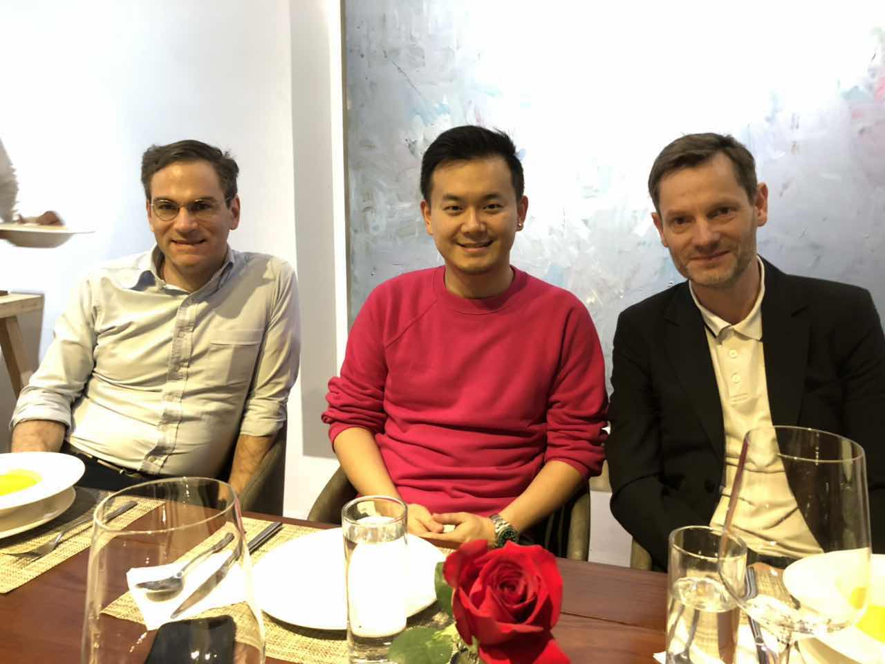 Jury members Philip Tinari, David Chau and Sam Stourdzé