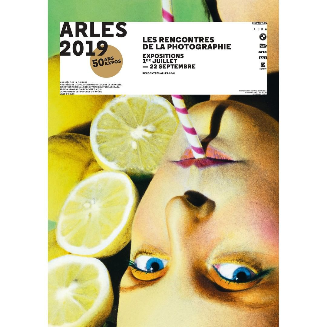 Discover the Program of Rencontres d'Arles 2019 (July 1-September 22) - Link