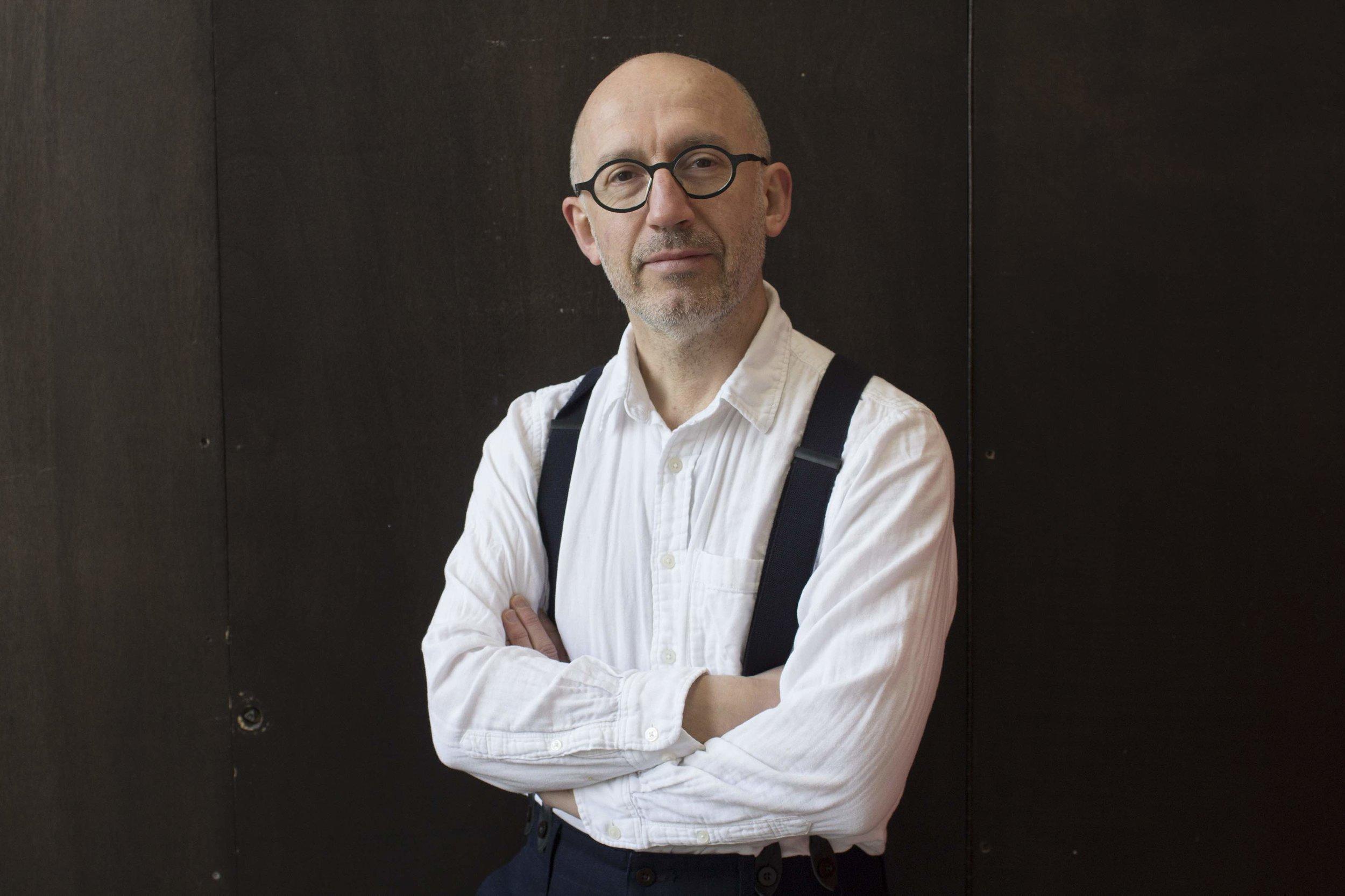 Portrait of Michel Poivert ©️Laura Henno
