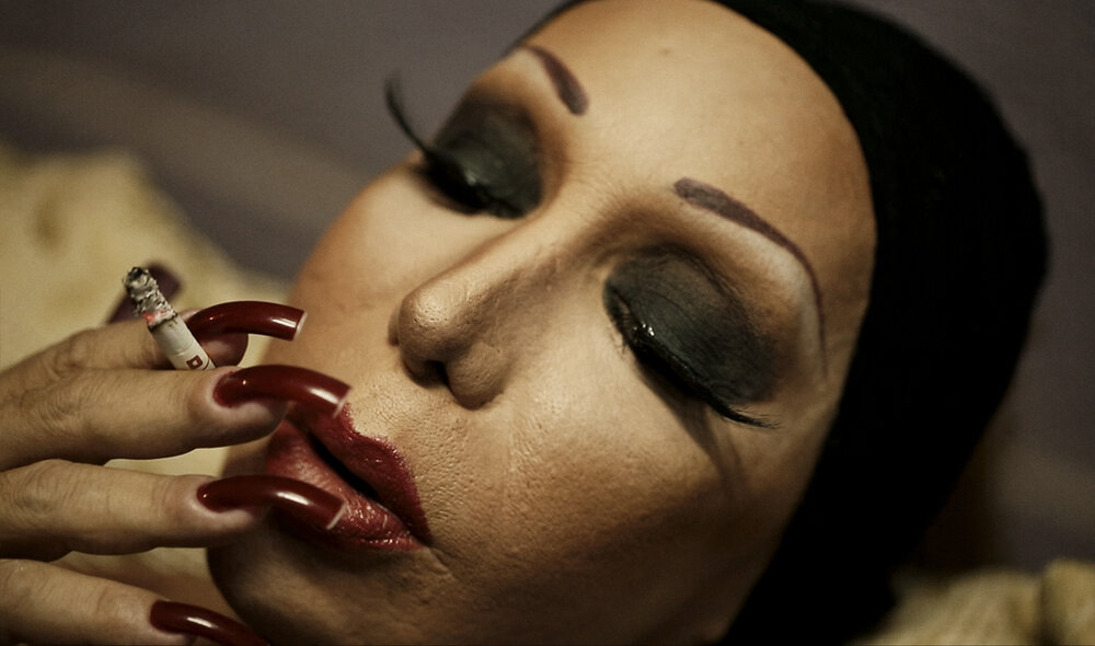 "Evangelia Kranioti,  Eu sou obscura para mim mesma , from the ""Obscuro Barroco"" series"