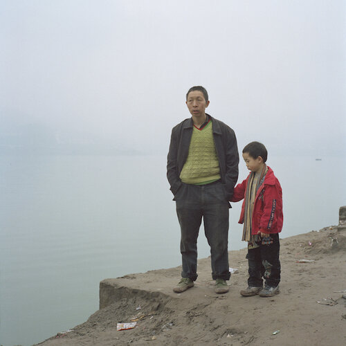 Liu Ke,  Father and Son,  2009, Archival Inkjet Print. Courtesy of the artist.