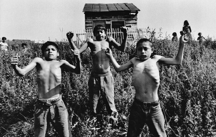 Josef Koudelka,  Slovakia , 1963. Gelatin silver print, 40.5 x 50.5 cm. © Josef Koudelka / Magnum Photo. Courtesy of The Museum of Photography, Seoul.