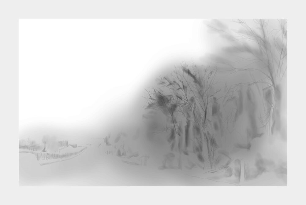 Sun Datang,  Fast Shanshui,  2018. Giclee Print, 164 cm x 110 cm. Courtesy of the artist.