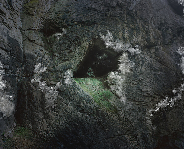 Zhang Wenxin,  Icy Cave , 2019. Photograph (UV print on Mirror). Courtesy of the artist.