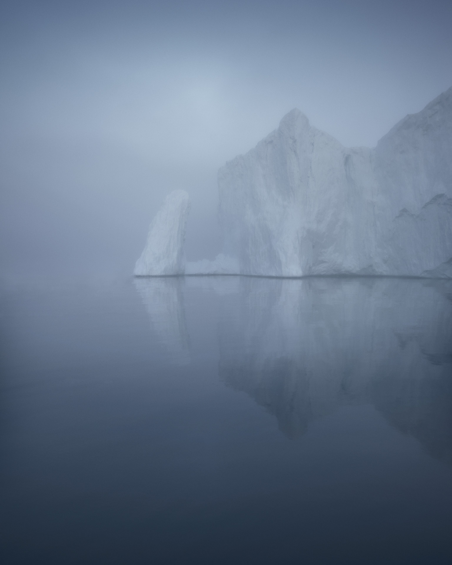"""Ice Ghost"", Disko Bay, Greenland 2016"