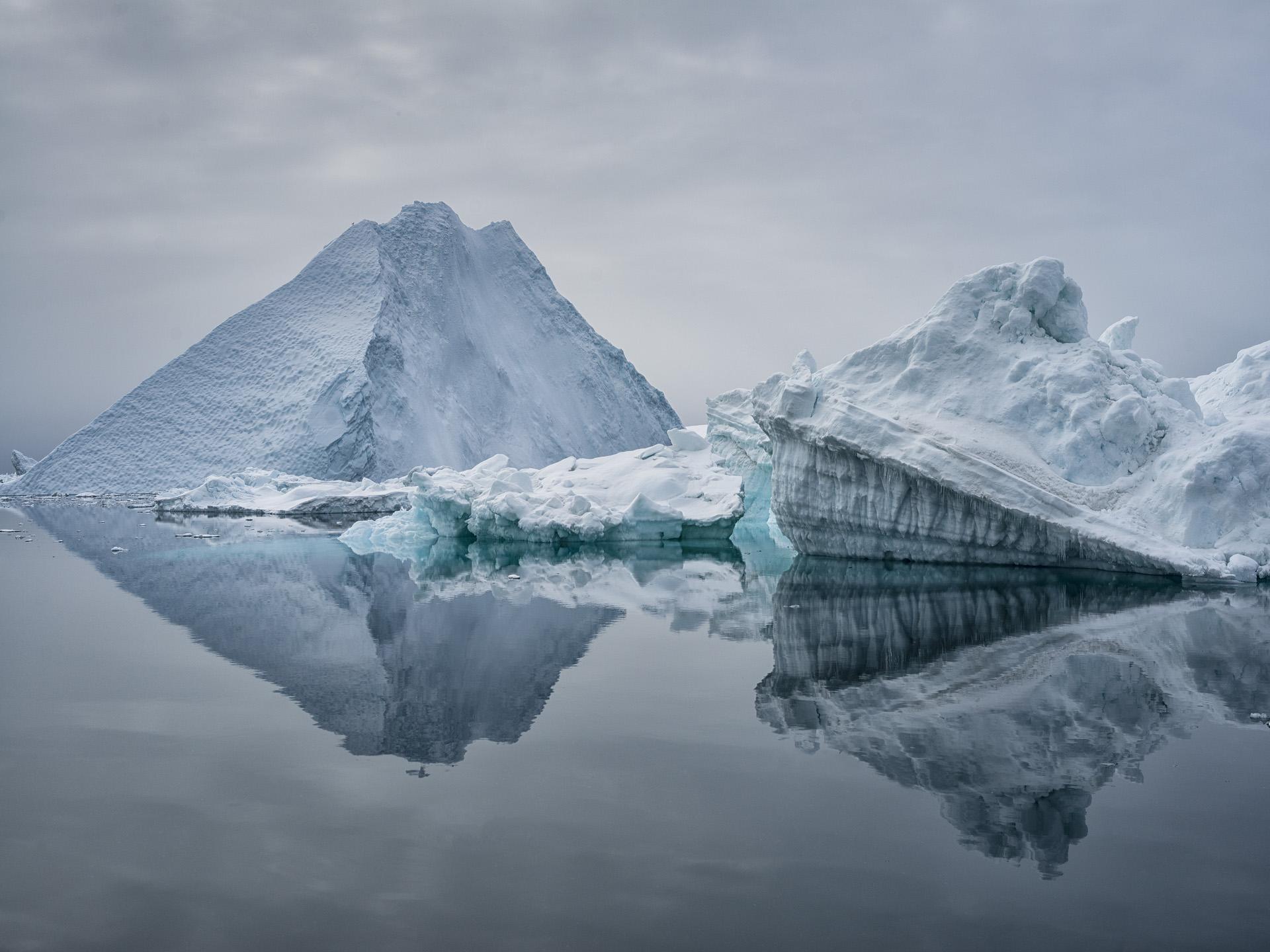 Iceberg Reflection, Disko Bay, Greenland 2015