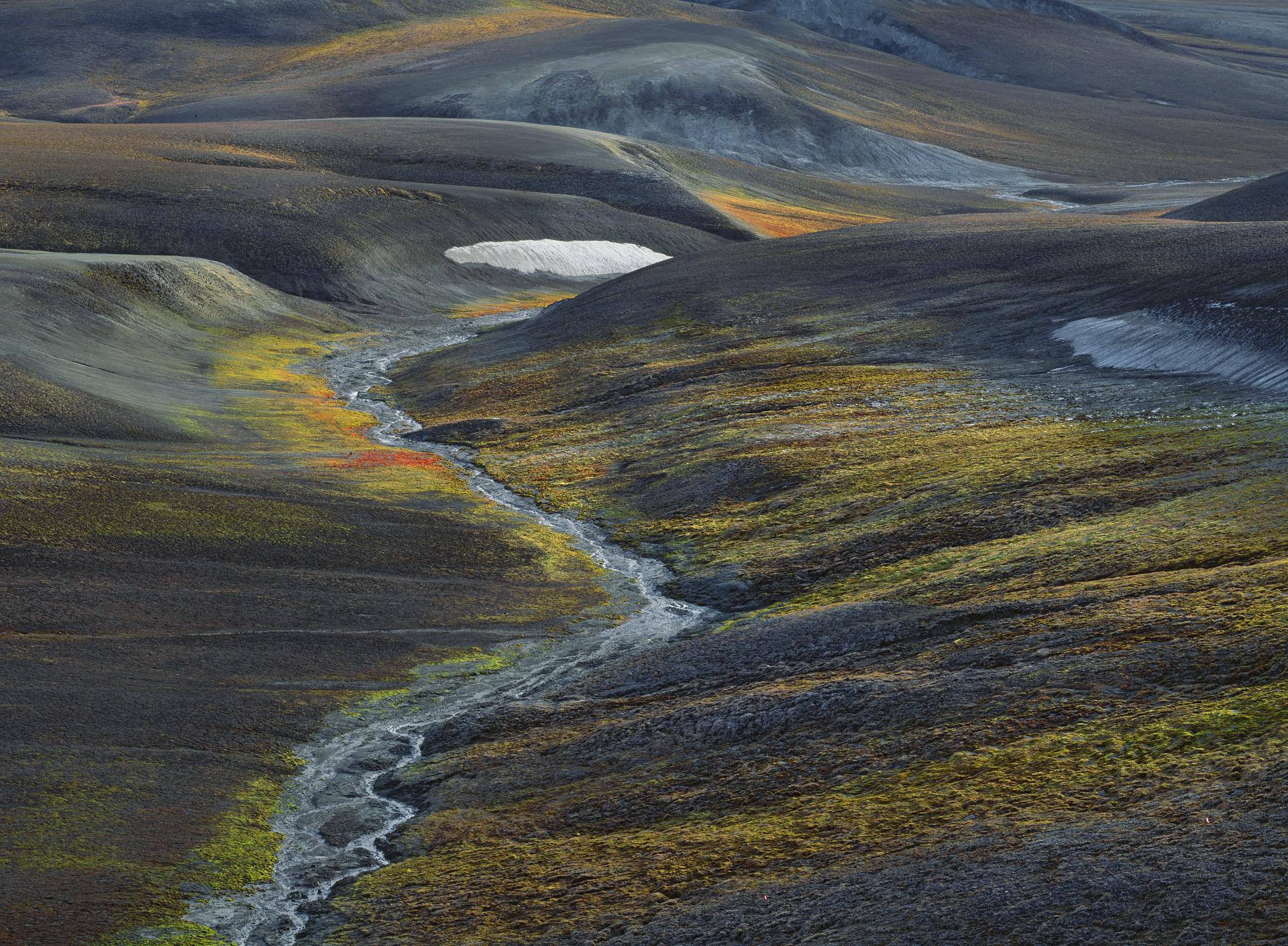 The Landscape of The Magnetic North Pole, Ellef Ringnes Island, Nunavut 1999