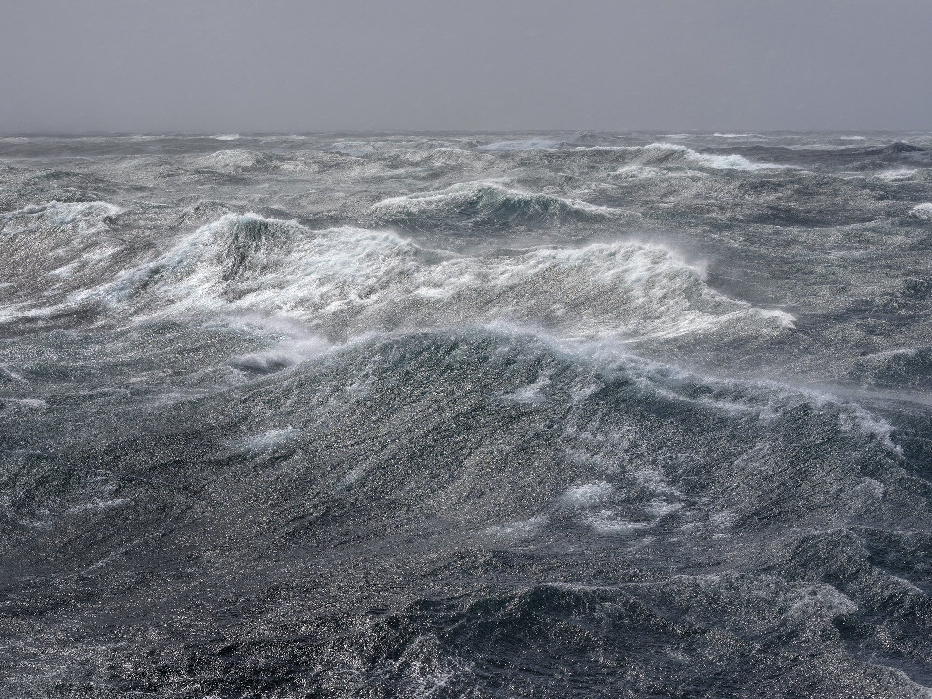 Stormy Sea, Drake Passage, Antarctica 2016