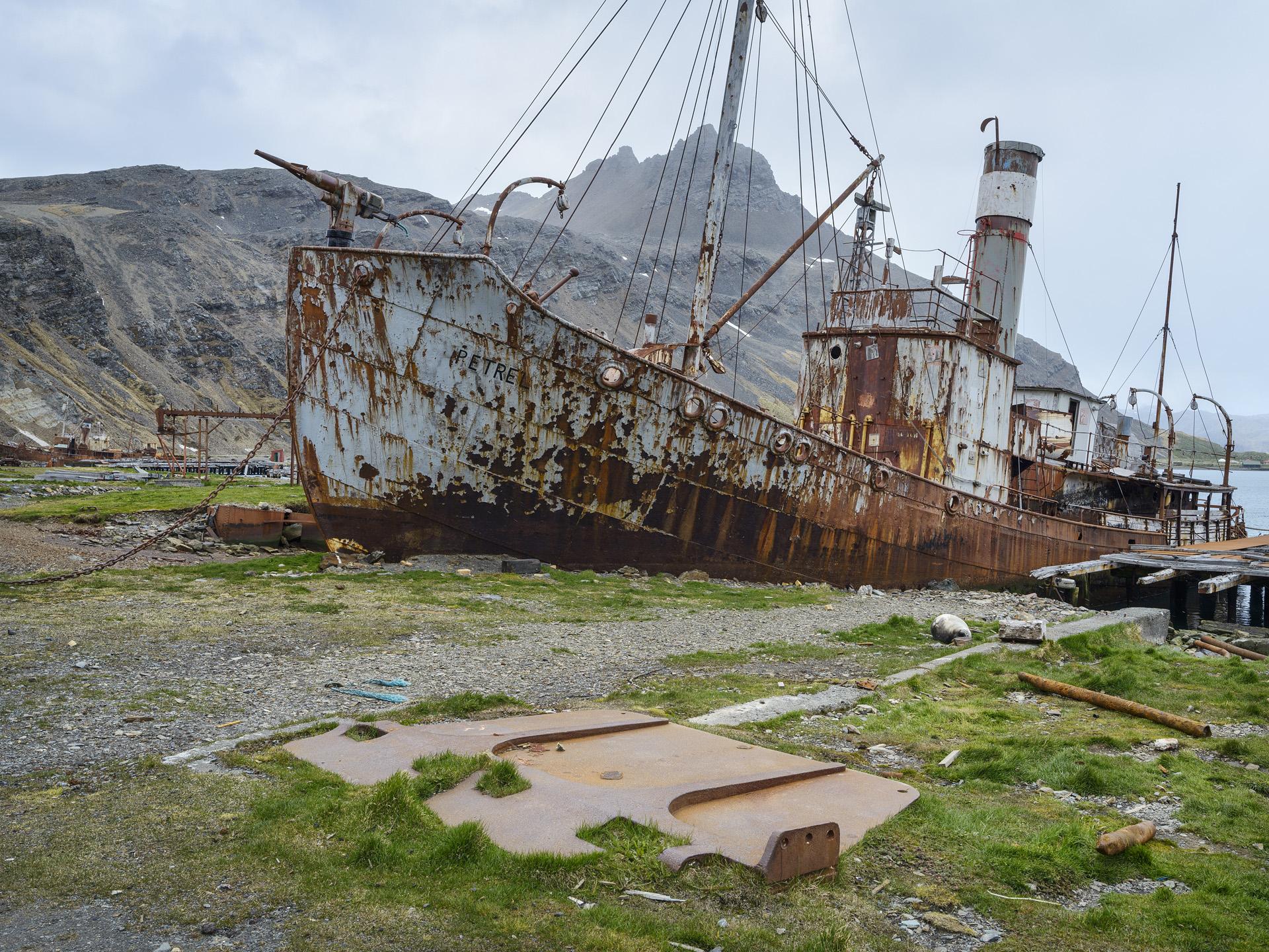 Old Whaler, Grytviken, South Georgia, Antarctica 2016