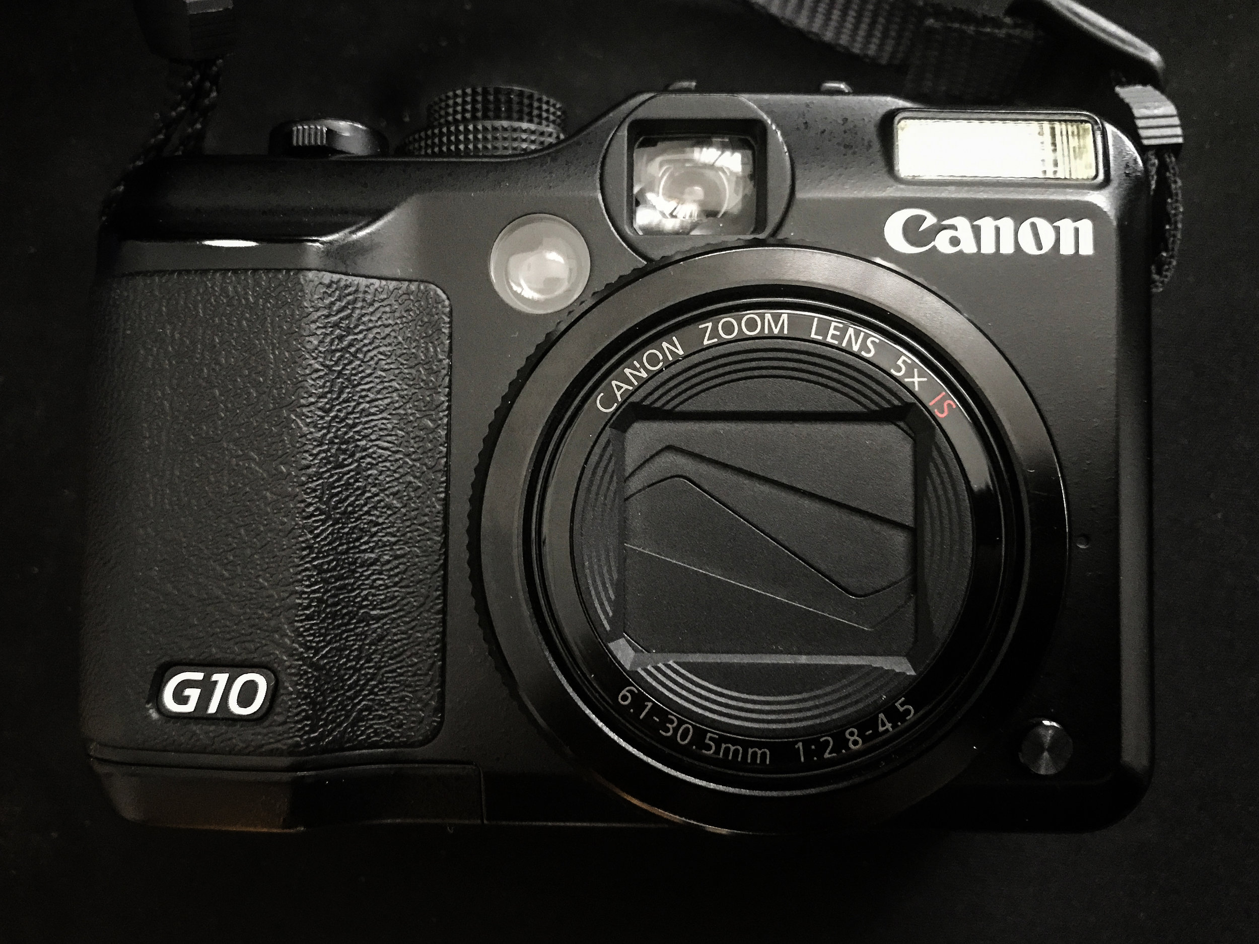 The Canon G10 with 720nm infrared conversion
