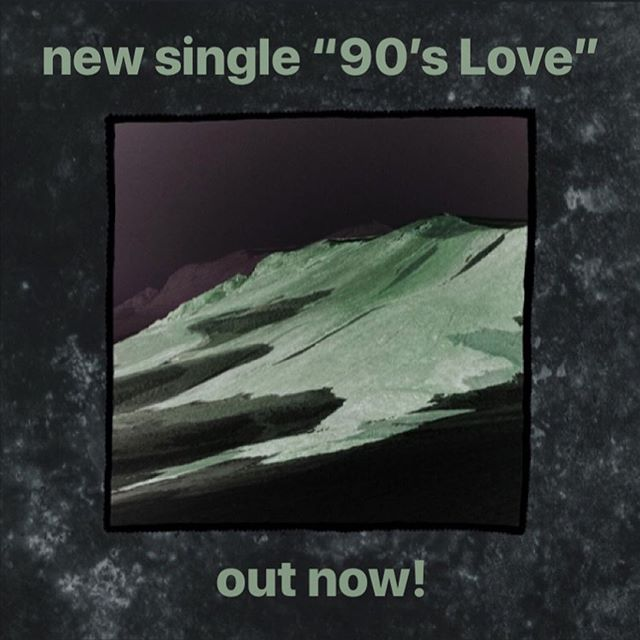 """""""90's Love,"""" our last single, is out today! It has all the traits of a SF hit: Slide guitar ✅ Keyboard AND synth ☑️ Ronan singing about the past 🆗 Can't wait til the album drops! Link in bio ~"""