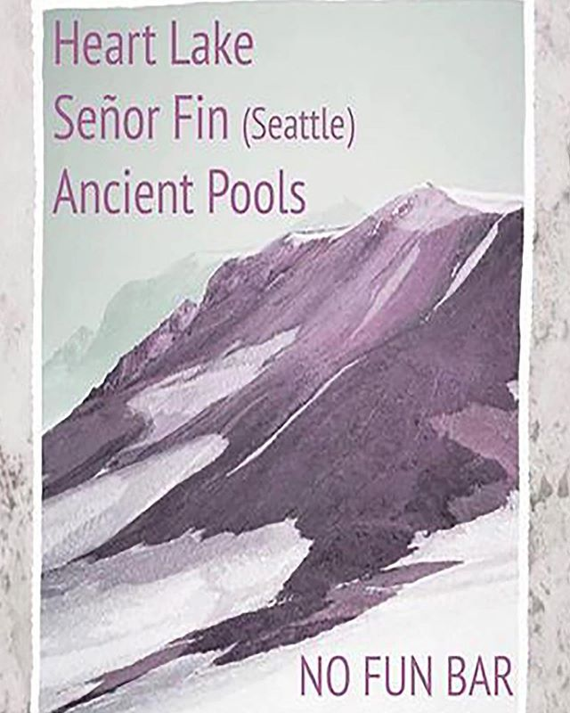 9/1! This Sunday we will be in Portland playing with the wonderful @fart.lake and @ancientpools 9/1!