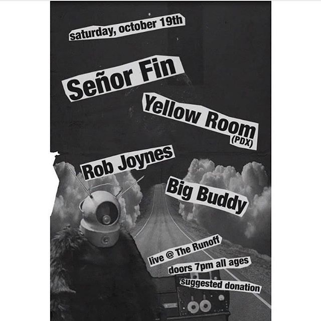 Hey! Our next show is this Saturday at The Runoff, a cool house show spot in Georgetown. Can't wait to see you!