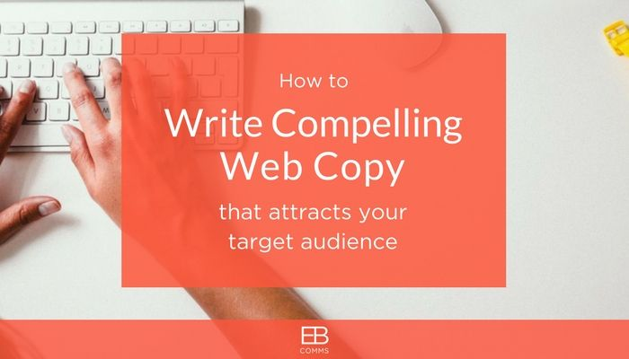 Write web copy that attracts your ideal audience