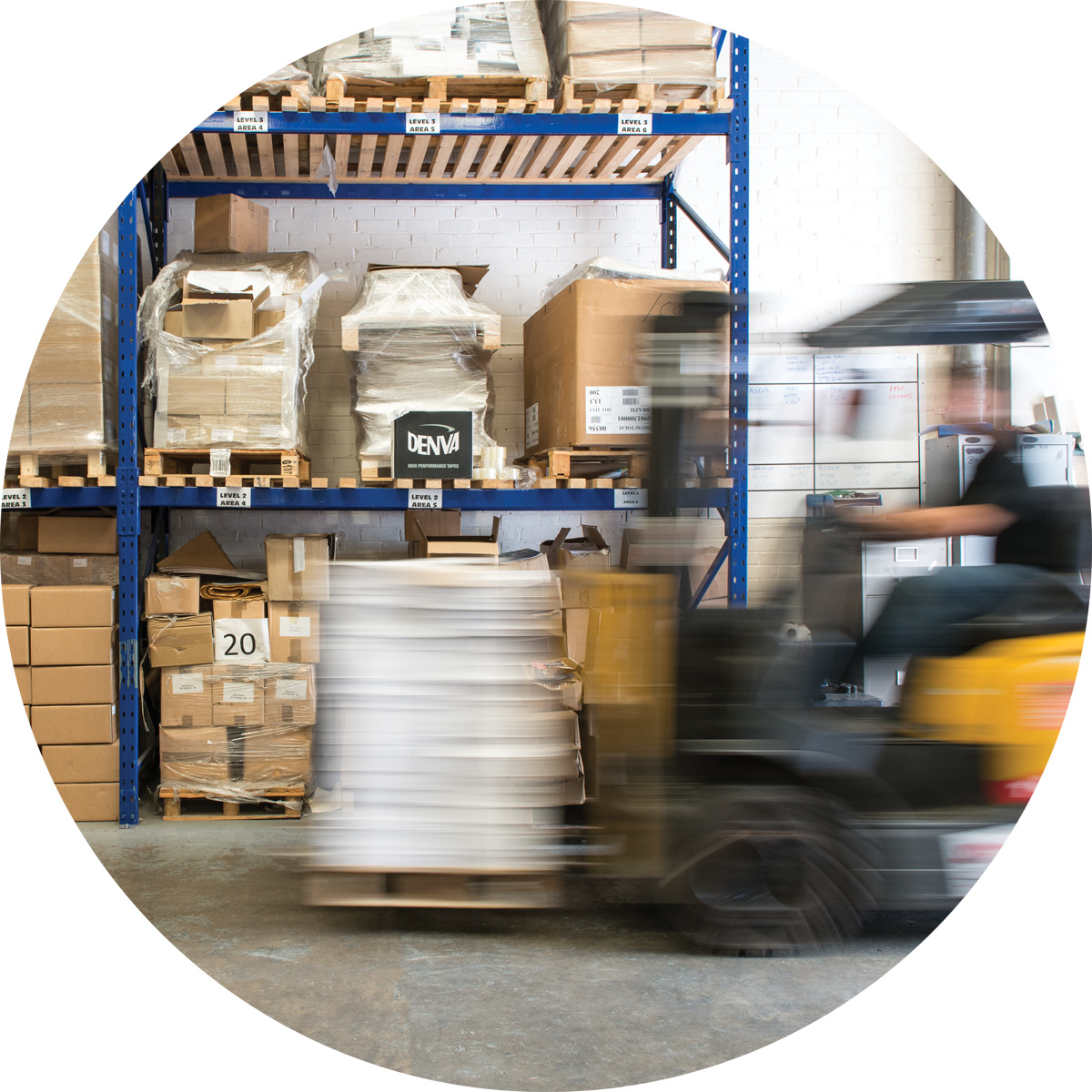 Warehousing and stock management