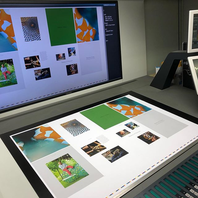 Our #litho UV press can print bright, vibrant images into uncoated paper. @fedrigoni_uk @antalisuk @senses_paper @gfsmithpapers