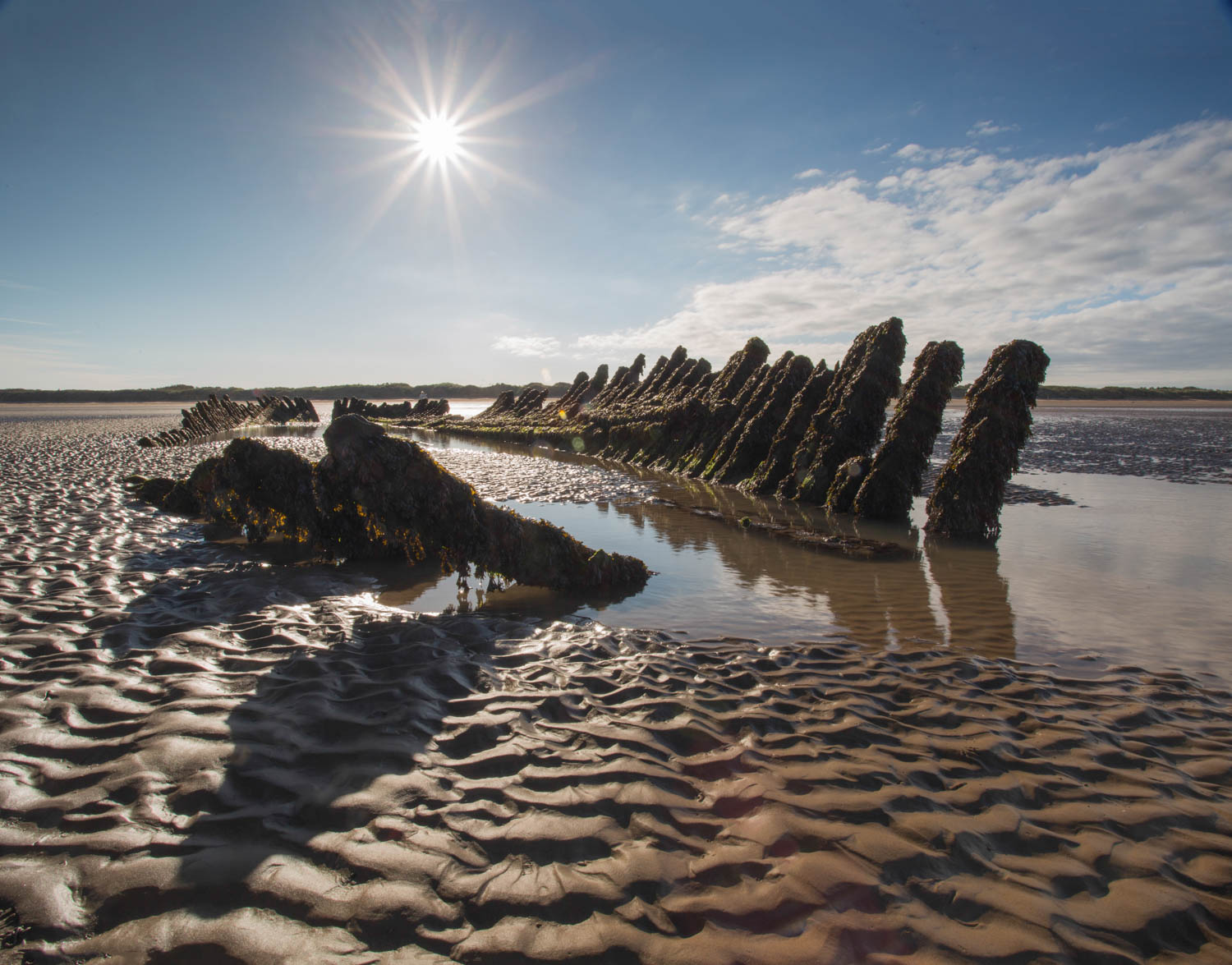 Wreck of The Nornen Ship, Berrow