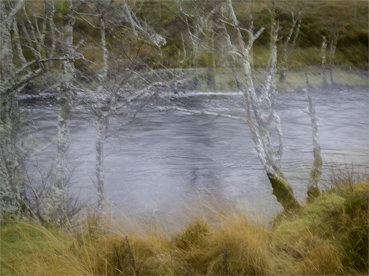 Banks of the River Etive.