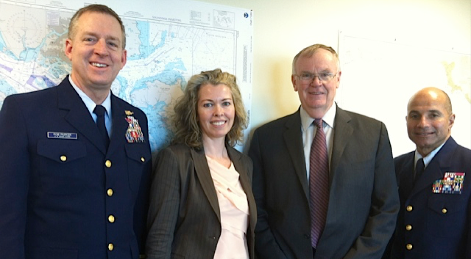 (with Coast Guard Ret. Admirals R. Parker, J. Loy and M. Brown)