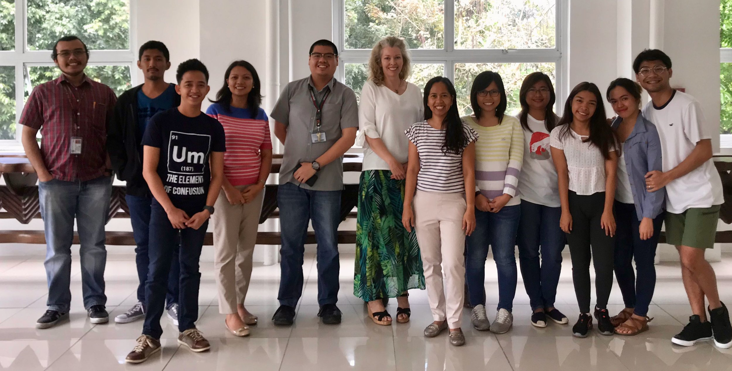 Fulbright Visiting Professor in the Philippines - Teaching Tropical Meteorology to graduate students spring 2018