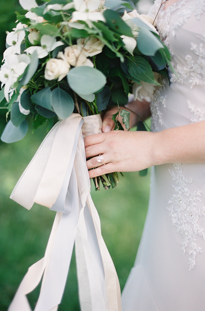 crane estate summer wedding les fleurs andover bridal bouquet