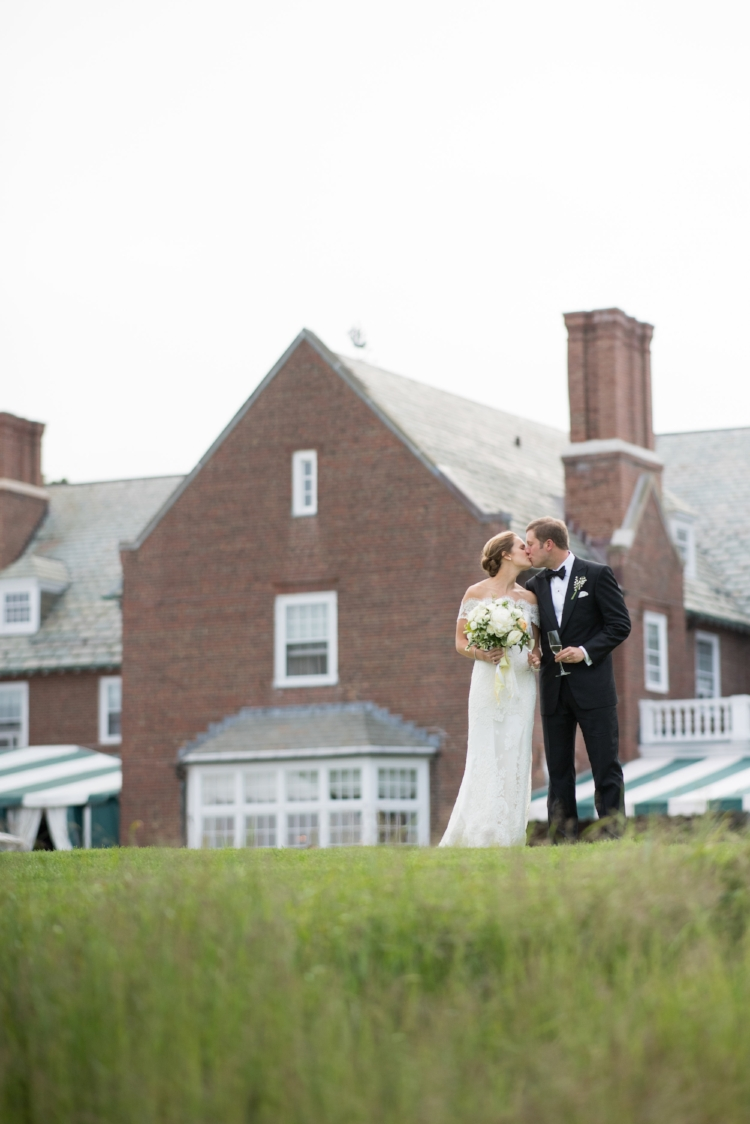 bride and groom, essex country club