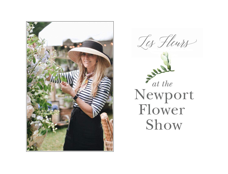 sandra sigman les fleurs andover newport rhode island flower show winner