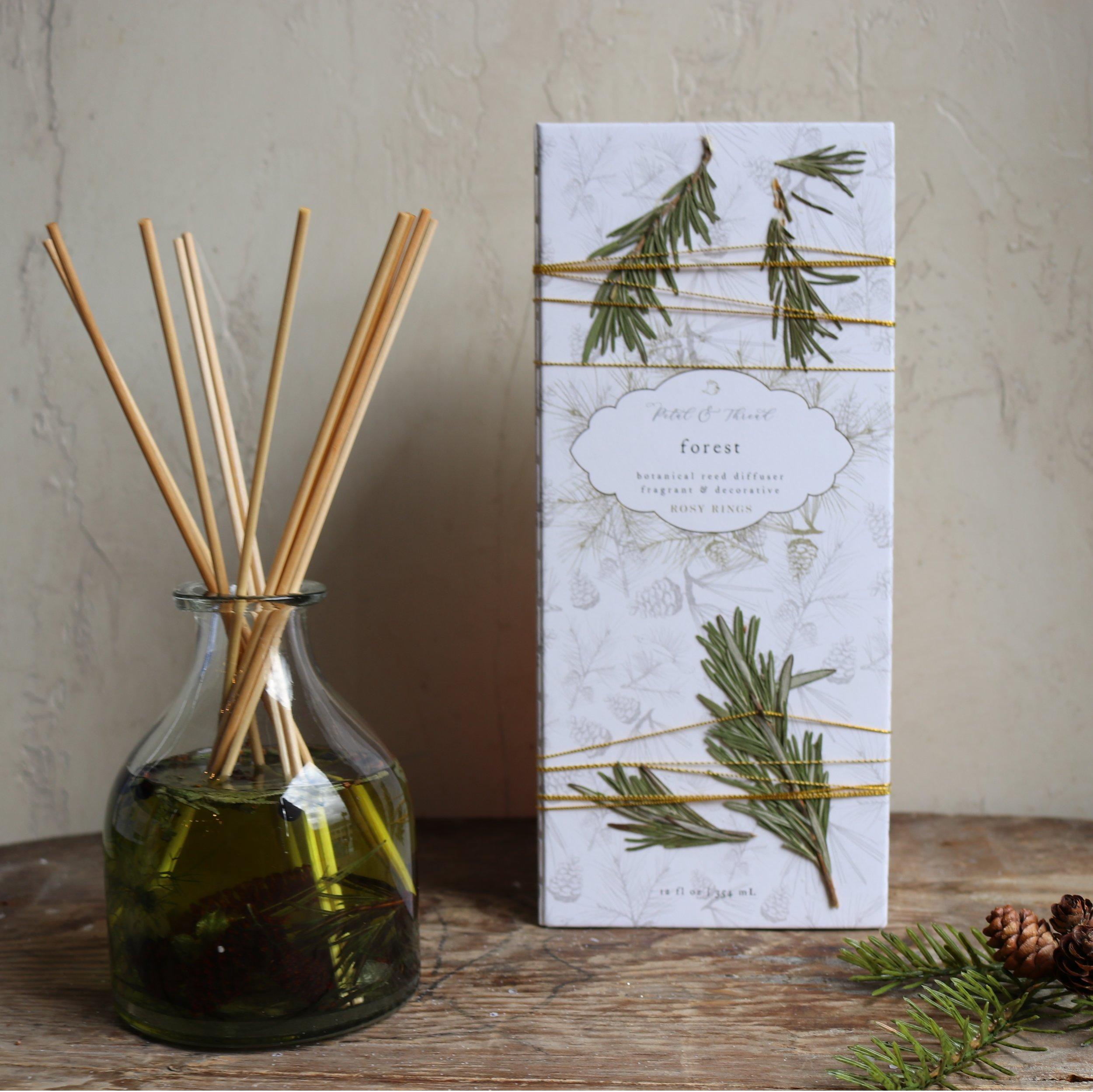botanical reed diffuser cedar fir