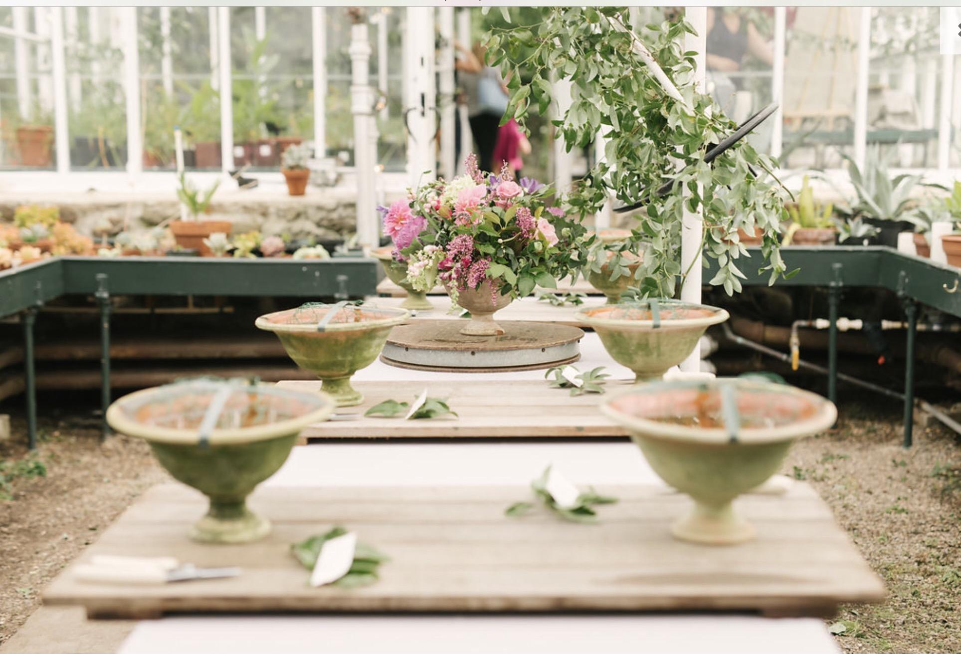 Sandra Sigman floral workshop les fleurs andover ma