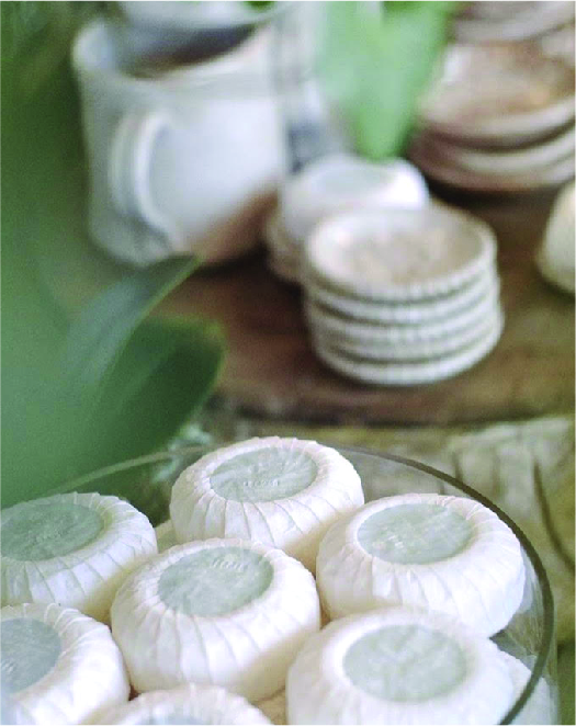 hand-milled soaps - from France