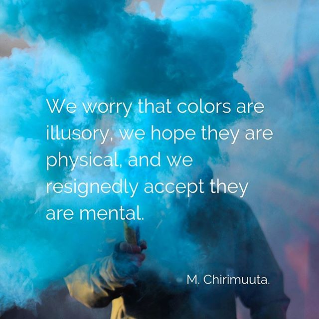 Pretty sure this is not only a #color concern, but also an everyday life problem. It is amazing how much we can learn from what #colorwisdom has to offer, and it just takes some minutes each day to stop the busyness and observe or think, to use #colorthinking as a tool. What important lessons have you learned from color?