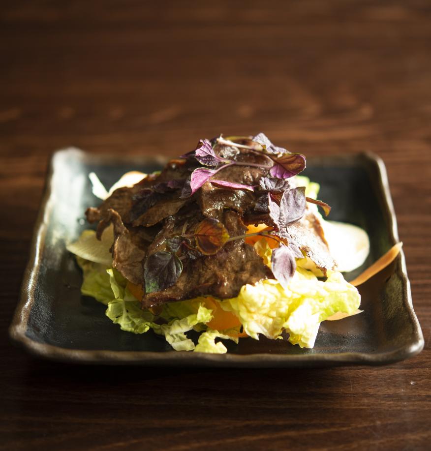 DSC_7158 - Beef shoga yaki salad.png