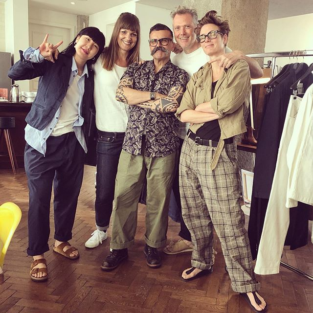#iovino #clothandindigo #qualityclothing #topquality #mens-womenswear #denim #rawdenim #suits #nicefabrics #italianfabrics #japanfabrics #workpant #teeshirts #hawainshirt #dress #selvedgerun #seekexhibitions #goodtimes #friends #nicepeople #thankful #bestemployer  Winterthur meet's Berlin for buying the summer collection 2020. Thank's to all our frinds for the good times and the beautiful goods. @bubblebaebe @companiondenim @blue_scape @hensteethitaly @biondidavide @blaumann_jeanshosen @justarideco @tailor_orgueil @yoshi.yakushiji @telagenova @bambucci @hansengarments