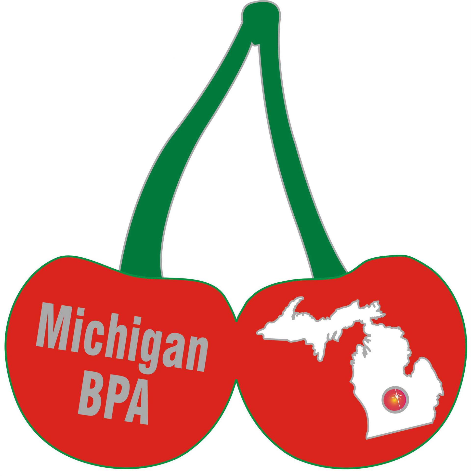 2017 NLC Pin Michigan Cherry
