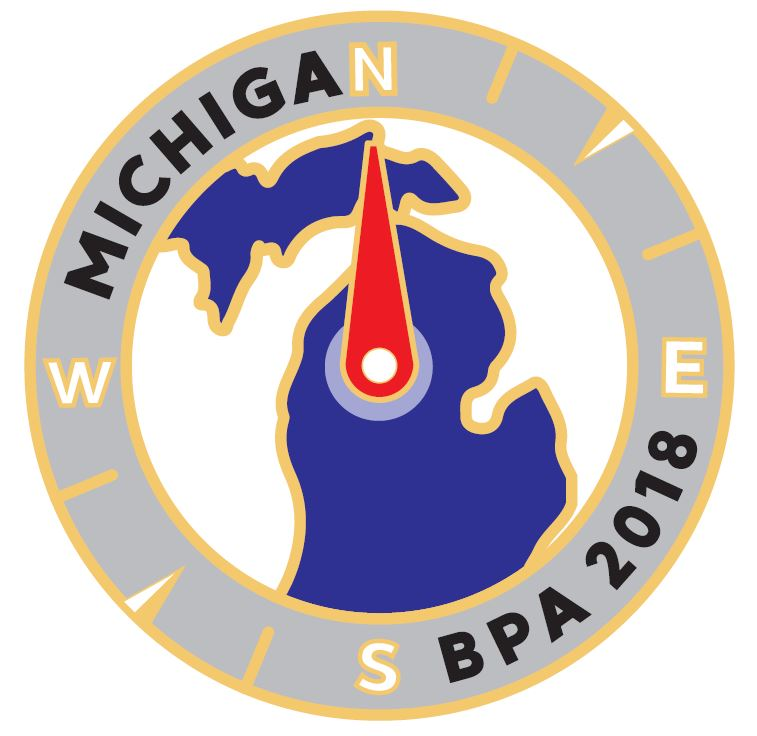 2018 NLC Pin Michigan Compass