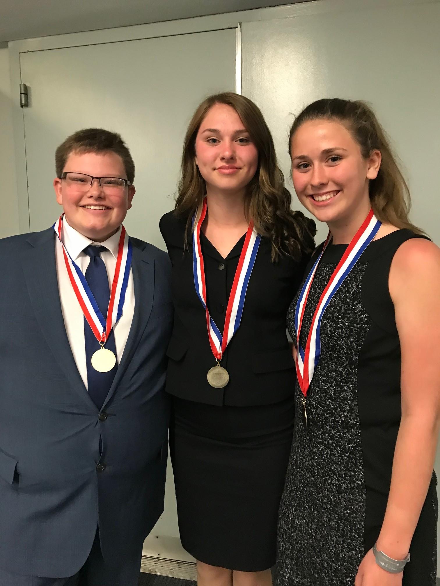 Davis Middle School Presentation Management Team (2019 NLC)