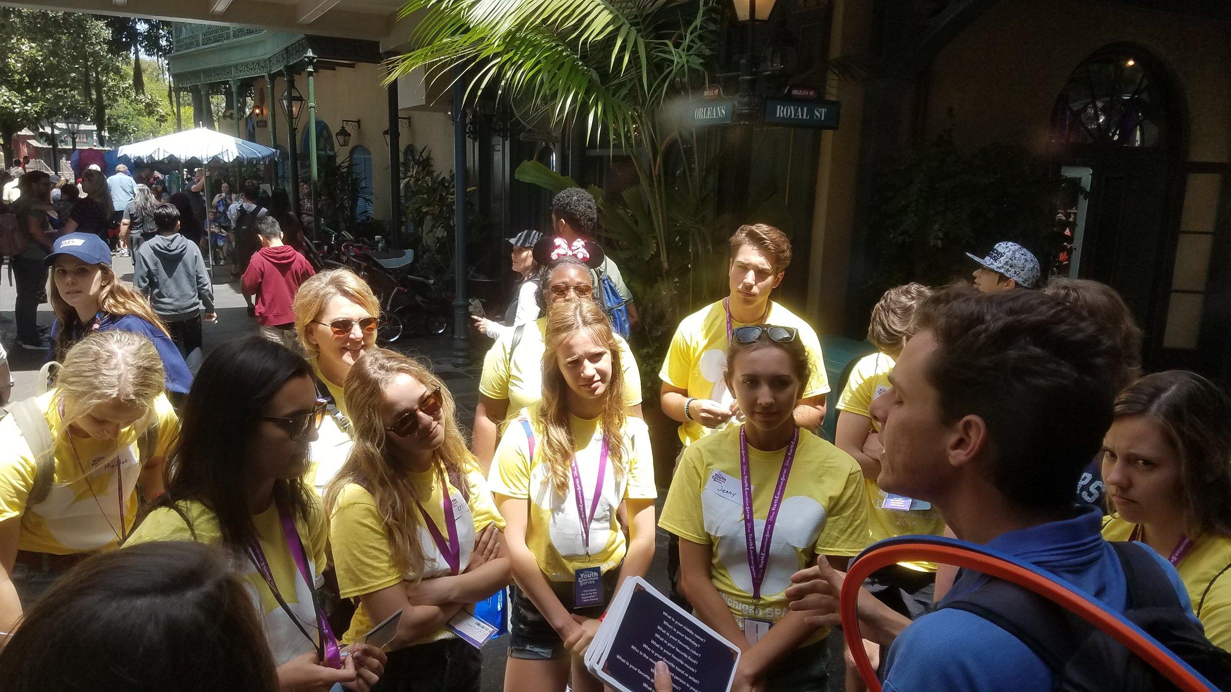 DeWitt HS at Disney YES Event (2019 NLC) (3)