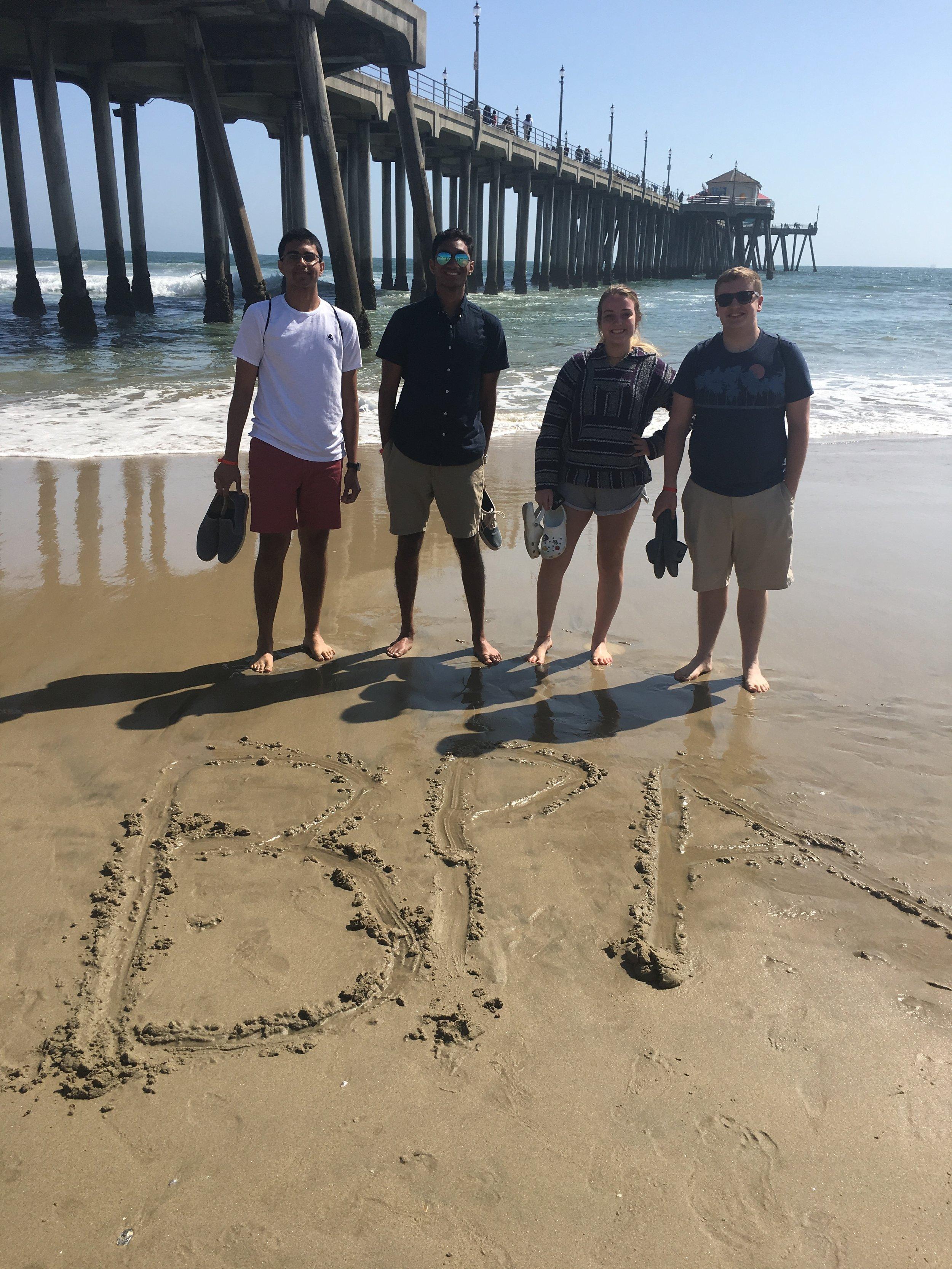 Gibraltar Carlson at Huntington Beach (2019 NLC)