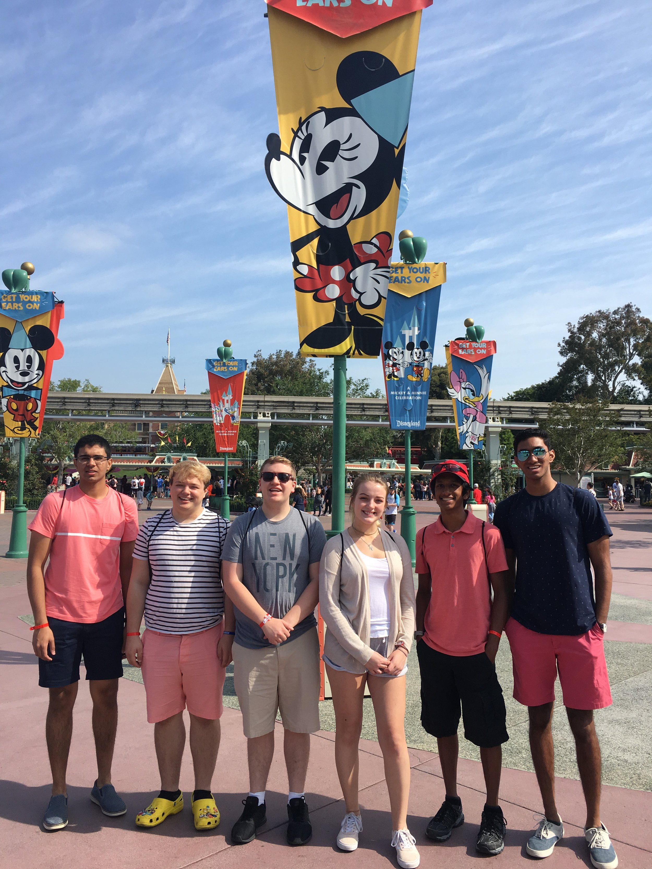 Gibraltar Carlson HS at Disneyland (2019 NLC)