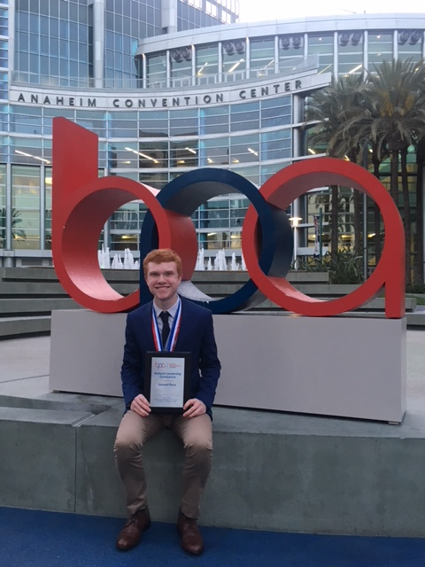 John Collins, Kalmazoo Valley Community College, 2nd place Personal Financial Management (2019 NLC)