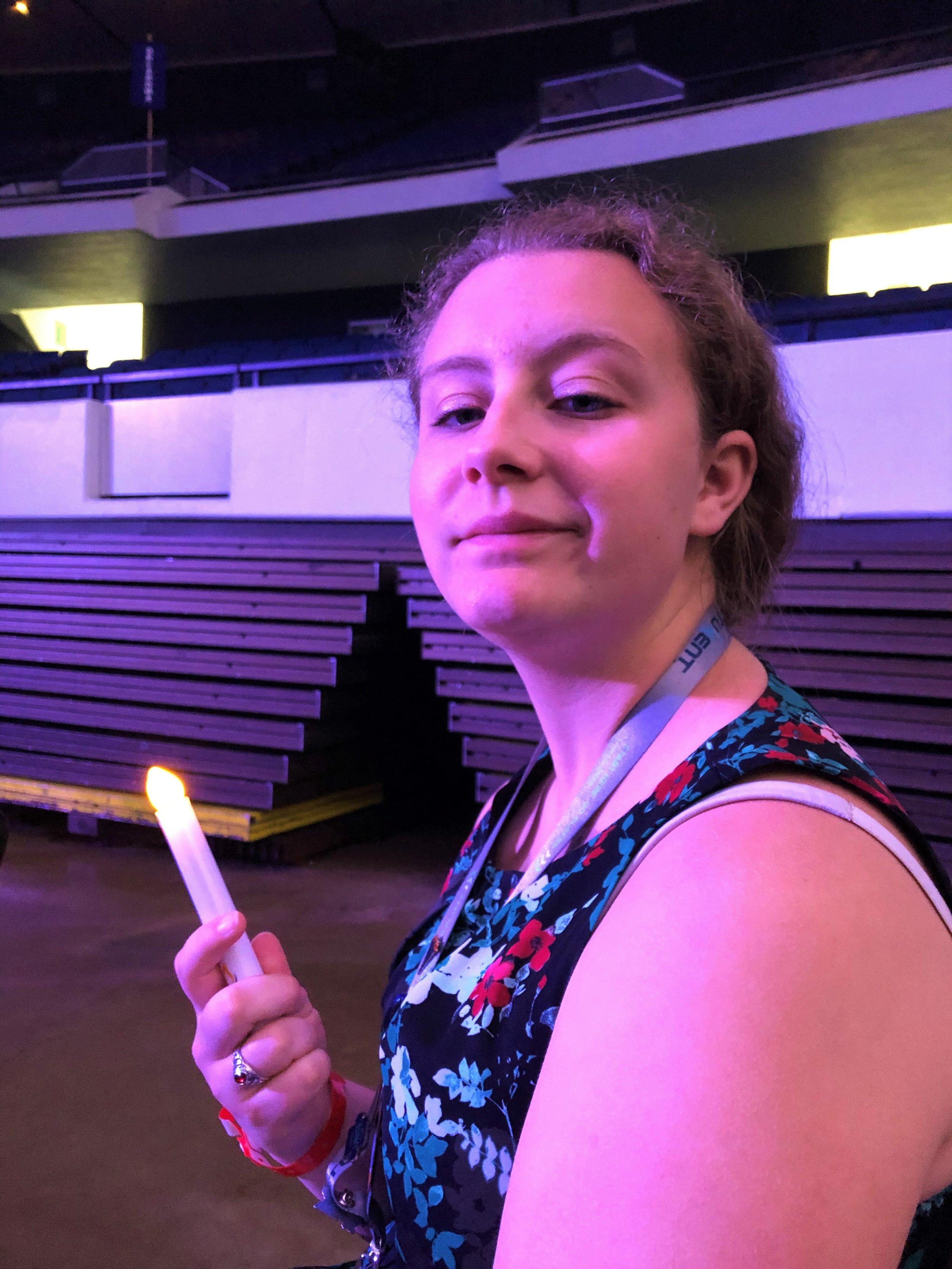 McKenzie Snooks, Beaverton HS, at Torch Awards Ceremony (2019 NLC)