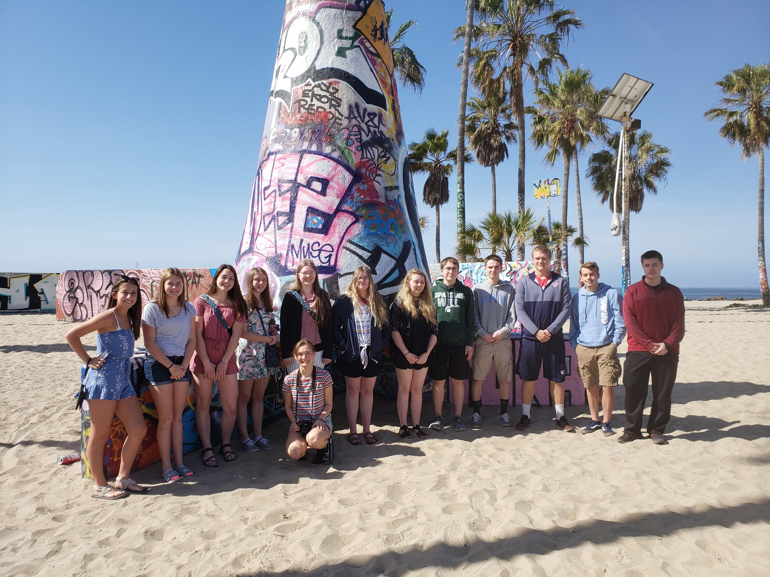 Westwood HS at Venice Beach (2019 NLC)