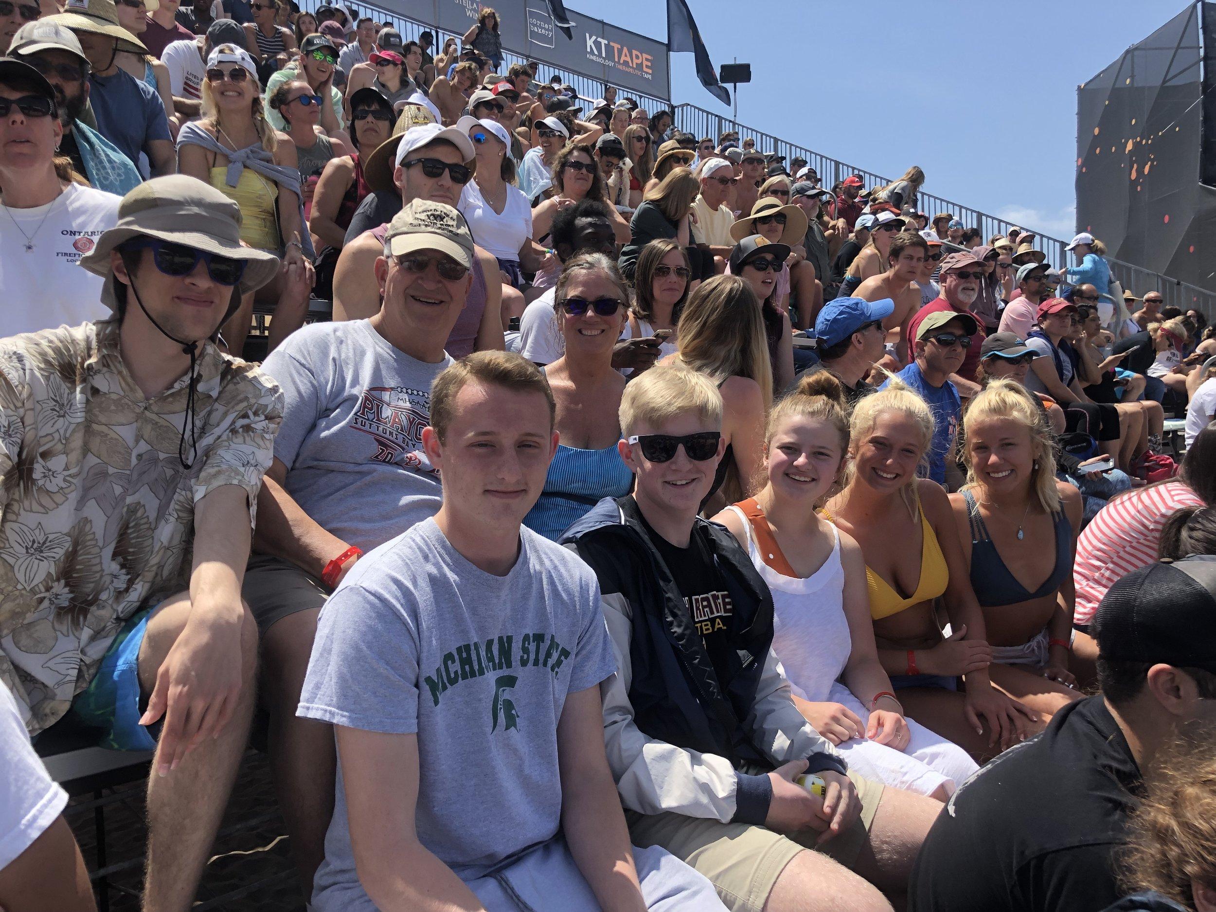 St. Mary HS Beach Volleyball at Huntington Beach (2019 NLC)